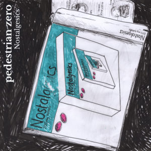 Artwork for Nostalgesics by Pedestrian zero - Pill box in felt tip pen